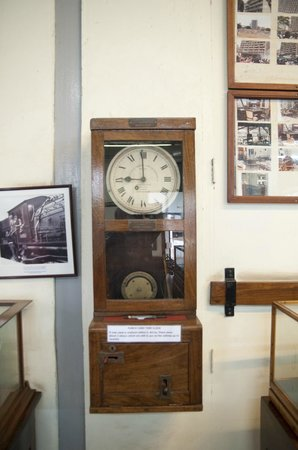 Nairobi railway museum: The old clock
