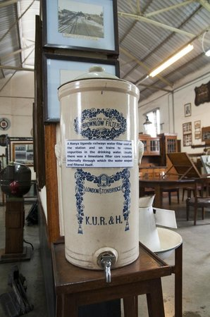 Railway Museum: The museum has a lot of funny objects