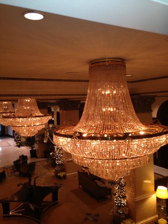 The US Grant: Beautiful Chandeliers