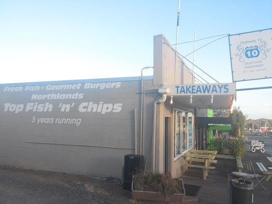 Seafood takeaways Highway 10: restaurant