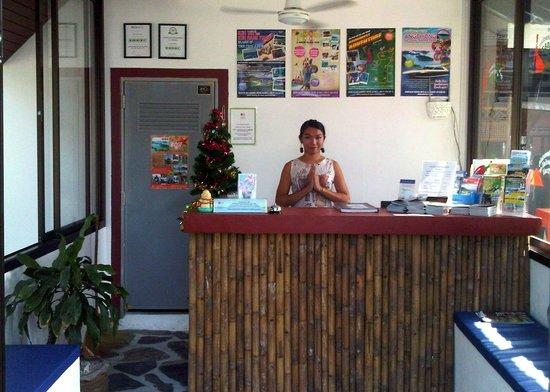 Coco Garden Resort: Reception