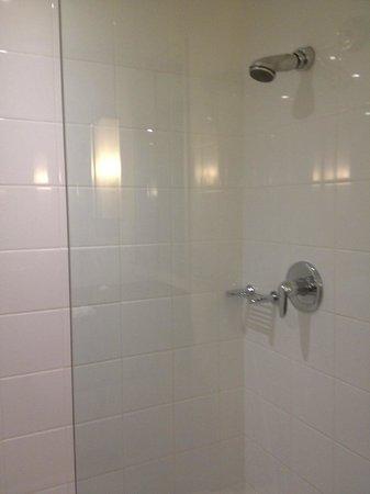 Sydney Harbour Marriott Hotel at Circular Quay: roomy shower
