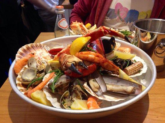 "The Seafood Bar : Il piatto ""Seafood Bar"""