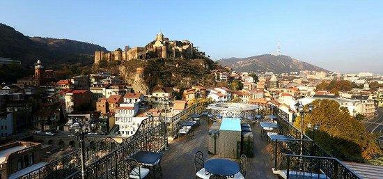 Tiflis Palace Hotel: View from Tiflis Veranda