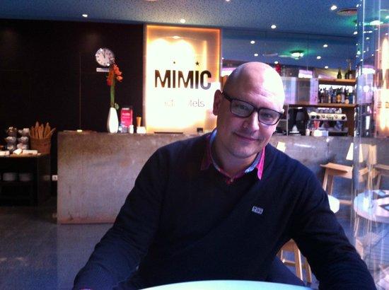Hotel Acta Mimic : En el comedor para desayuno