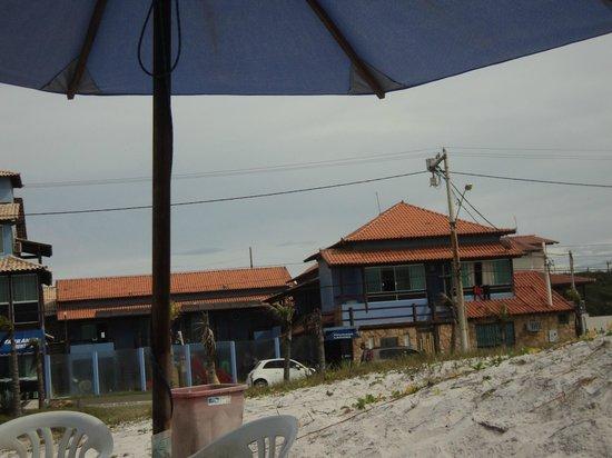 Pousada Laguna: la posada desde la playa