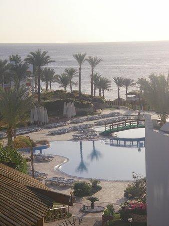 Sunrise Diamond Beach Resort : vista dal ristorante