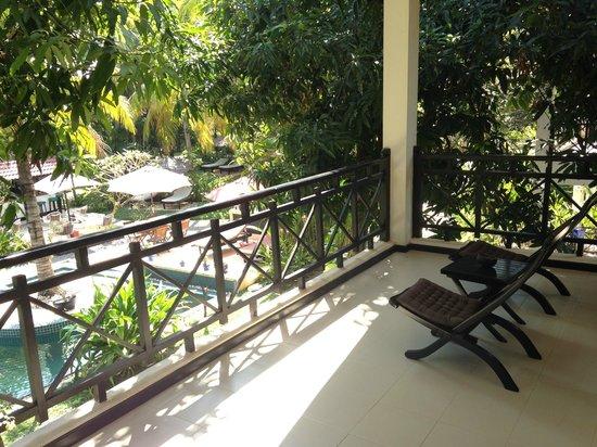 La Maison d'Angkor: Terrace