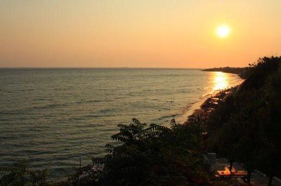 Hotel Bruskos: spectacular sunset