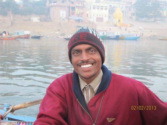Ganges River: Лодочник