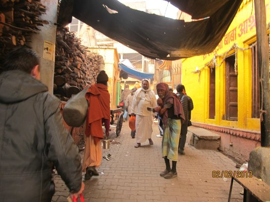 Ganges River: Улочки в центре Варанаси