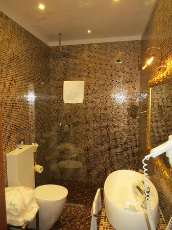 Hotel Savoia & Jolanda: Wet Room