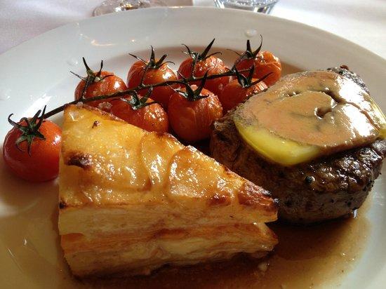 Lower Street Brasserie: Fillet steak Rossini
