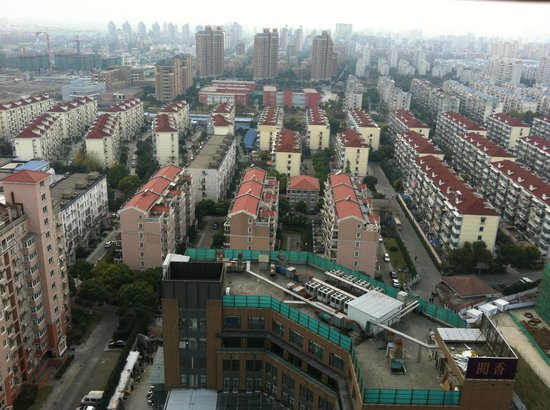 Ramada Plaza Pudong South Shanghai : View from my room