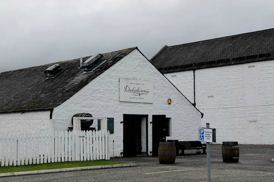 Dalwhinnie Distillery: where the tour starts and ends