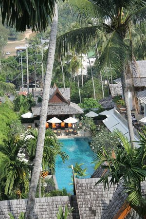 Ayara Hilltops Resort and Spa Surin Beach: View of the pool from our suite