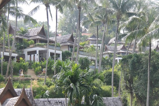 Ayara Hilltops Resort and Spa: View of the suites
