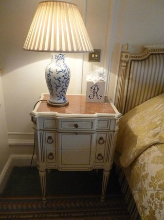 The Ritz London: Bed Table