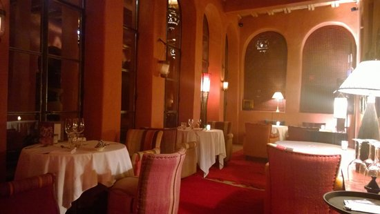 Le Jardin des Douars : Quiet dining area