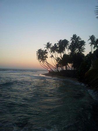 Mihiripenna Beach Resort: Sunset