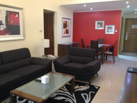 Al Barsha Hotel Apartments by Mondo : 1 bedroom apartment