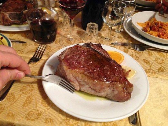 Agriturismo Acquaviva: Bistecca