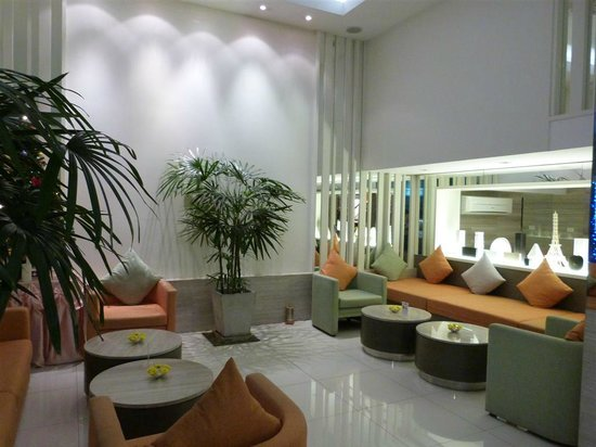 CityPoint Hotel : Reception sitting-area