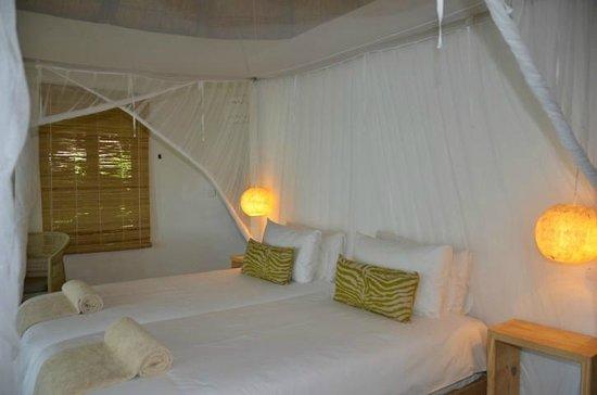 Chobe Bakwena Lodge: very comfortable beds