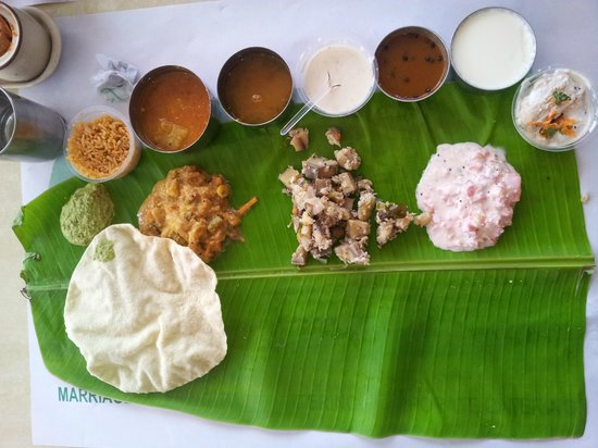 Annapoorani - Truly South Indian: A Thali at noon