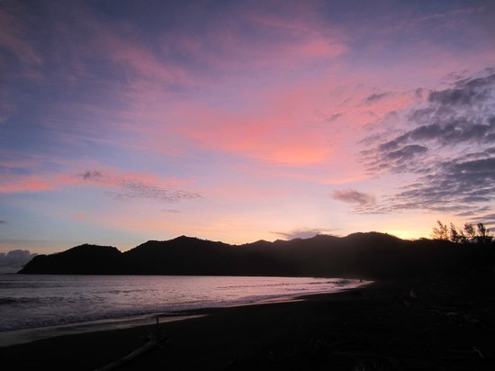 Surfcamp Guanico: Sonnenuntergang
