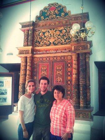 Muziris Heritage - Day Tours: Ms. Barbara and son