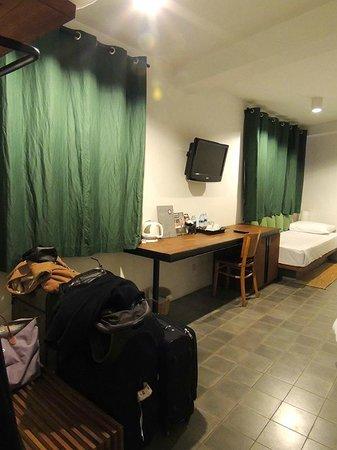 The Purple Mangosteen: The room