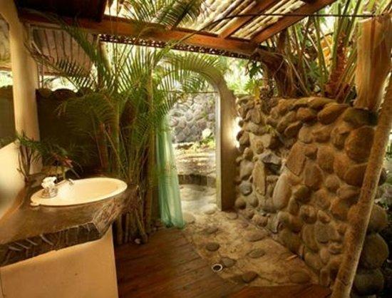 Yoga Getaway With Bria Charlie Banyan Cottage Shower