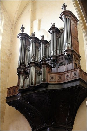 Cathédrale Saint-Sacerdos  : Orgue !