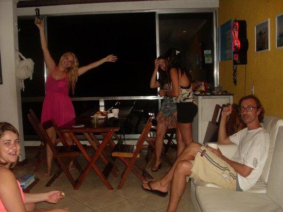 Vidigalbergue Rio Hostel: Todos Felizes