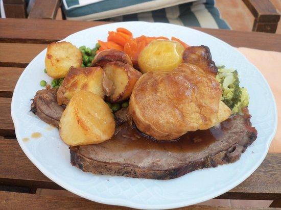 La Mariposa Restaurant : Roast beef
