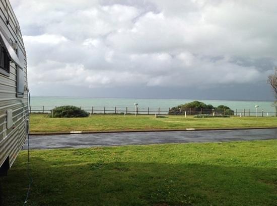 Sea Vu Caravan Park: Lots of fresh air