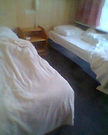 Hotel Breitner: Kamer 3 x 4 m.