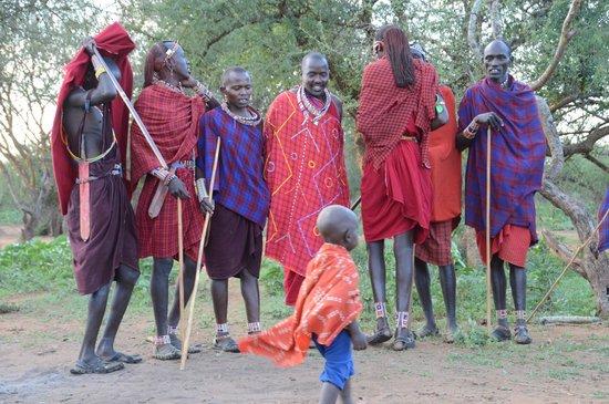 Porini Amboseli Camp: Masai