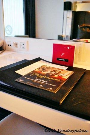 WestCord Fashion Hotel Amsterdam: Kamer, info brochures