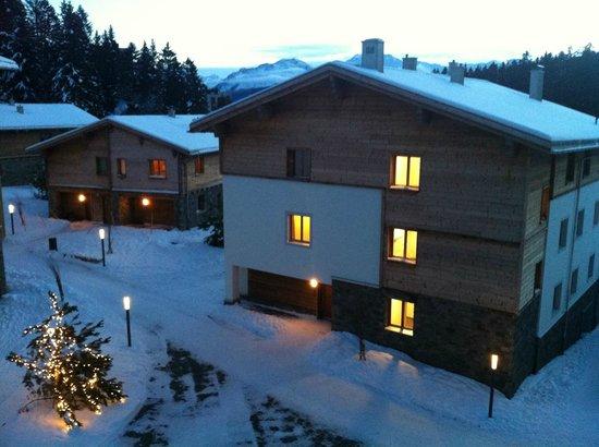 Priva Alpine Lodge Lenzerheide : Aussicht