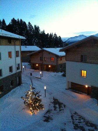 Priva Alpine Lodge Lenzerheide: Aussicht in Richtung Lenzerheide