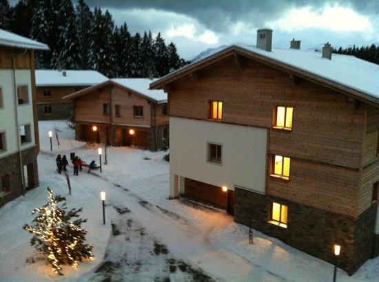 Priva Alpine Lodge Lenzerheide: Aussicht