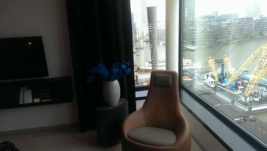 Mainport Hotel : Heerlijke schommelstoel