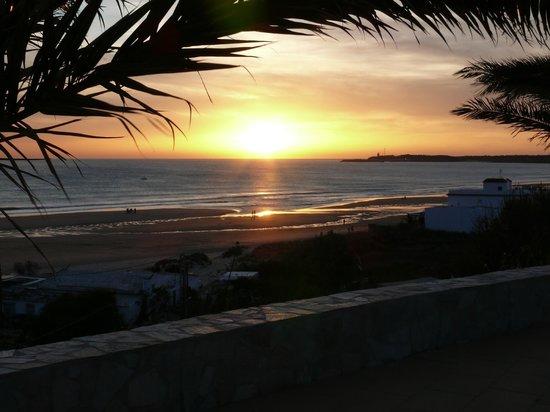 Hotel Fuerte Conil - Costa Luz : Sonnenuntergang vom Balkon