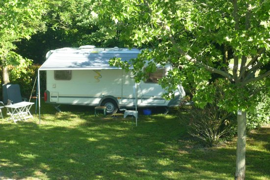 Camping Durance Luberon : Un emplacement camping
