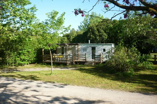 Camping Durance Luberon : Mobil home Neptune