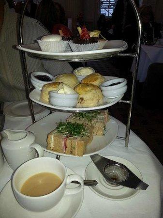 The Pump Room Restaurant : Gluten Free Afternoon Tea
