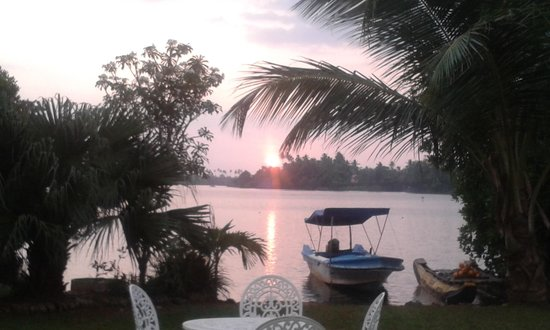 The Waterside Bentota : Beautiful Sunset