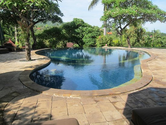 The Damai: Lovely views and comfortable area around the pool